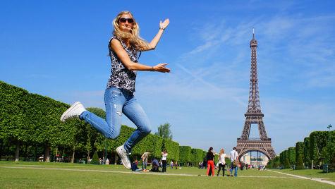 Så her glad blir man av å komme til Paris!